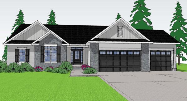 Custom Built Ranch House Plans For Single Level Living